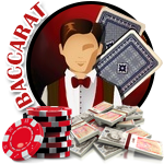 Play live dealer baccarat online